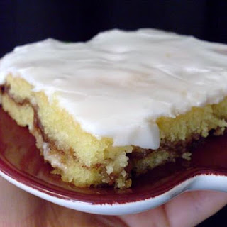 Honey Bun Cake.