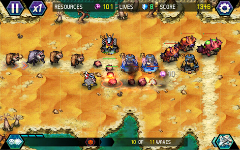 Tower Defense: Infinite War Mod Apk (Unlimited Money) 3