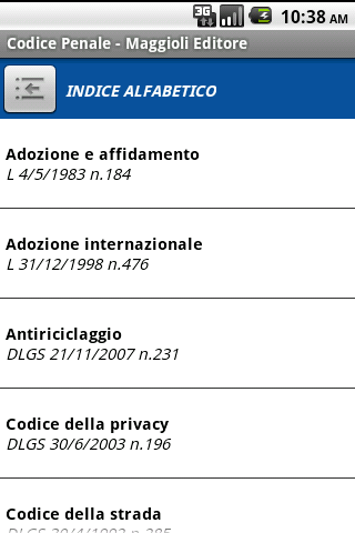 Codice Penale- screenshot