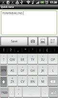 Screenshot of Chiclet - HD Keyboard Theme