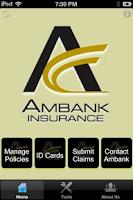 Screenshot of Ambank Insurance