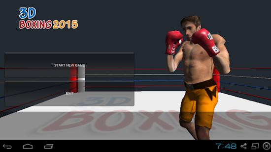 3D BOXING PRO 2015