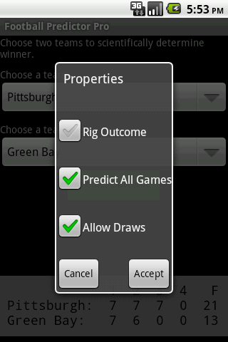 Football Predictor Pro - screenshot