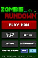 Screenshot of Zombie Rundown
