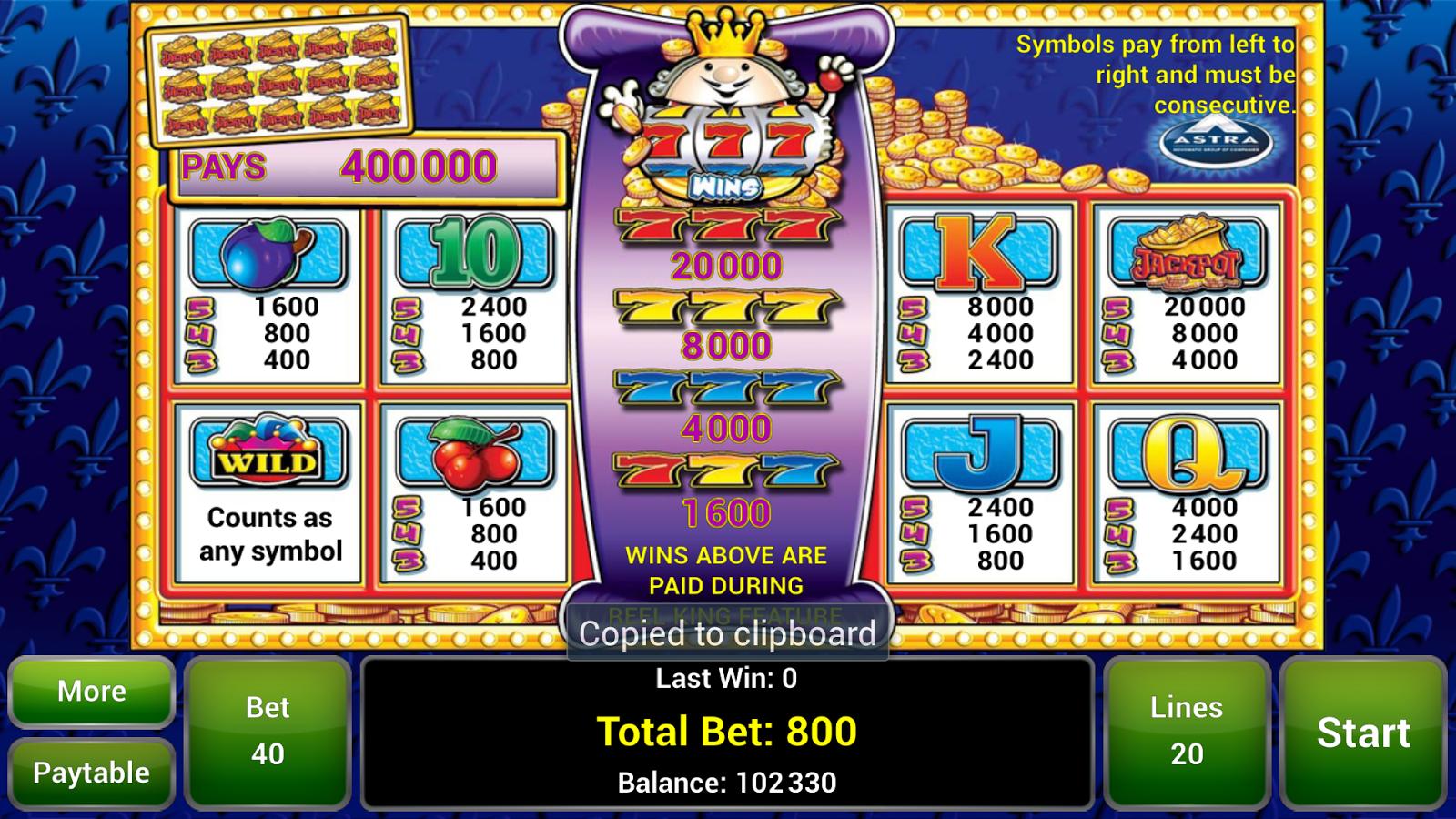 Reel King™ Slot - screenshot