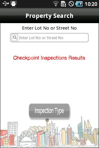 Checkpoint Inspection Results - screenshot