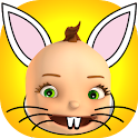 Easter Bunny Yourself - 3D Fun icon