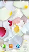 Screenshot of 3D Petals Live Wallpaper
