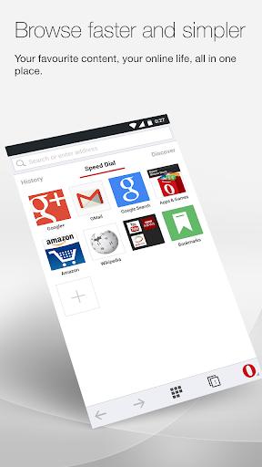 Opera 瀏覽器 測試版本