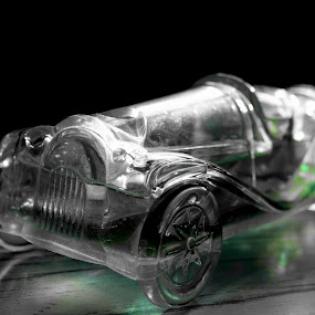Opaque car by Sheeik Mohideen P - Artistic Objects Toys ( car, black and white,  )