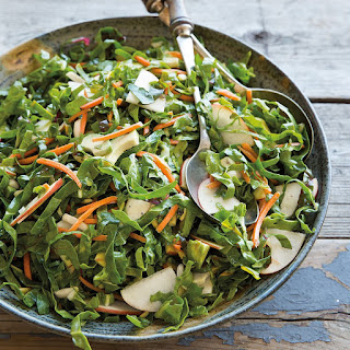 Chopped Chard Salad with Grapefruit Vinaigrette