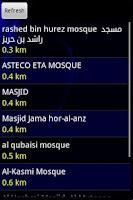 Screenshot of Nearest Masjid (Mosque)