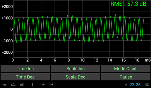Sound Oscilloscope- screenshot thumbnail