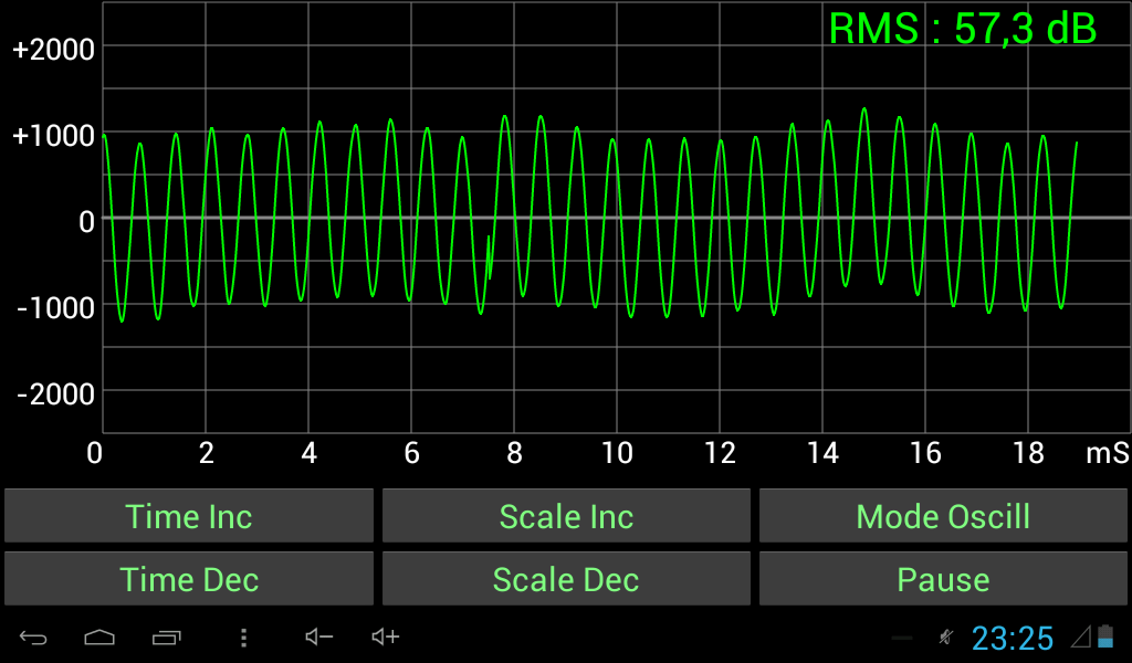 Sound Oscilloscope- screenshot