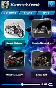 Motocyklové Zvuky - náhled