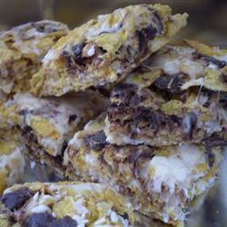Chewy Cornflake Bars.