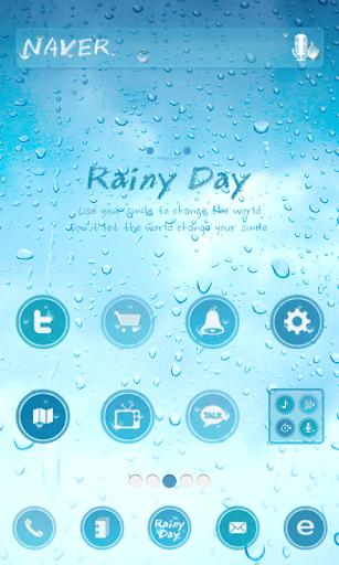 rainy day 도돌런처 테마