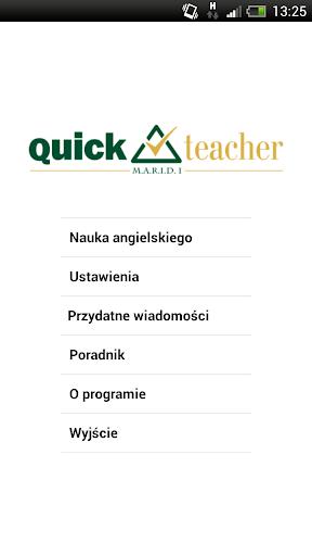 QuickTeacher Język angielski