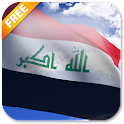3D Iraq Flag icon