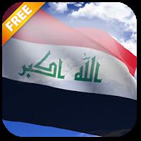3D Iraq Flag Live Wallpaper 3.1.1