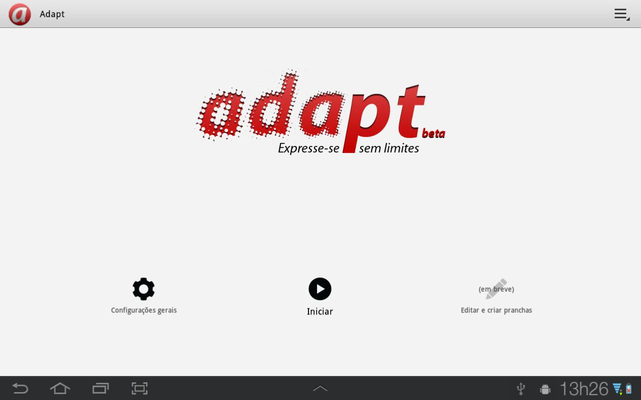 Adapt- screenshot