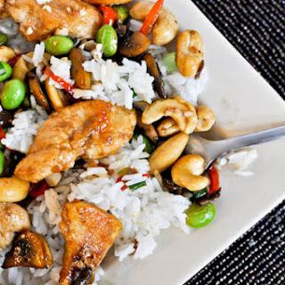 Cashew Chicken.
