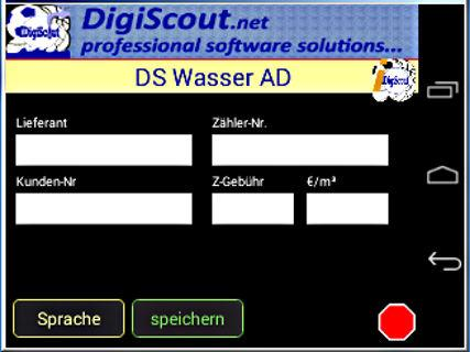 DigiScout Wasser AD - screenshot