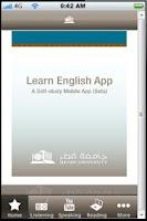 Screenshot of QU Learn