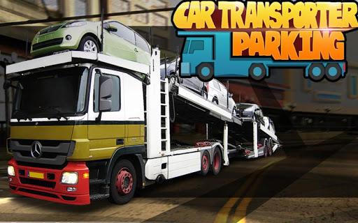 車のトランスポーターの駐車ゲーム