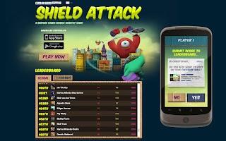 Screenshot of Shield Attack