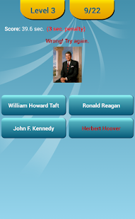US Presidents Quiz - screenshot thumbnail