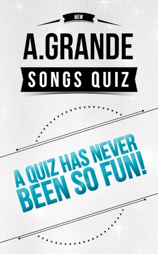 Ariana Grande - Songs Quiz