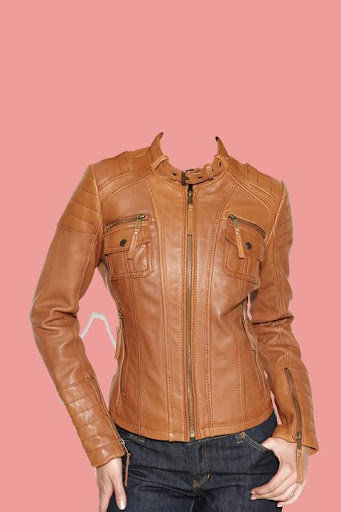Leather Coat for Woman Suit