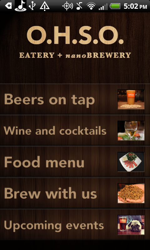 O.H.S.O. Brewery- screenshot
