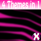 Pink Zebra Complete 4 Themes icon