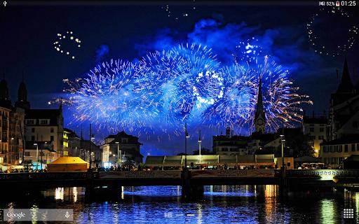 Fireworks Live Wallpaper 2018 1.2.1 screenshots 11