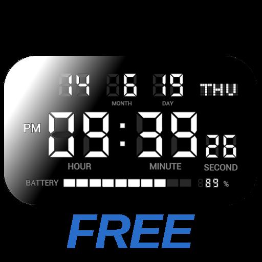 Basit Dijital Saat - DIGITAL CLOCK SHG2 FREE APK