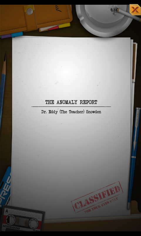 Anomaly Report - Holoradix- screenshot