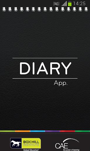 BHI Student Diary