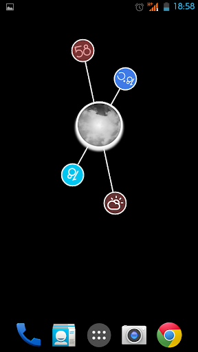 個人化必備APP下載|Meteo Rotante for Zooper pro 好玩app不花錢|綠色工廠好玩App