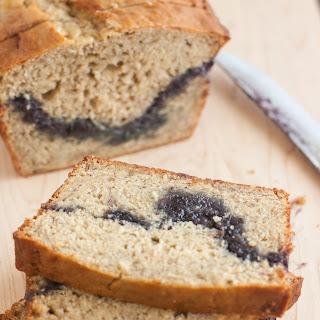 Blueberry Swirl Banana Bread