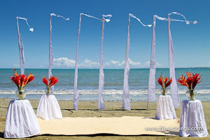 Balinese Silk Wedding Flags