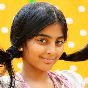 by Madhu Payyan Vellatinkara - Babies & Children Child Portraits ( naughty, cuty, kids, portraits, smart, Model, Portrait, Untouched, Unedited, Non-photoshop )