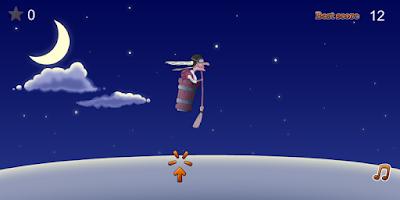 Screenshot of Jet flight of night witch