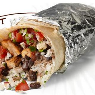 Copycat Chipotle Chicken Burrito
