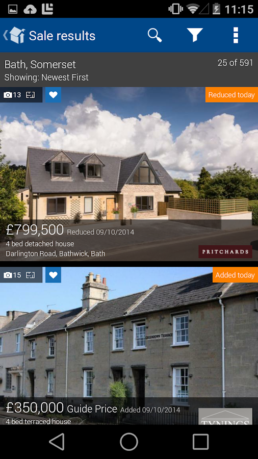 Rightmove Property Search - screenshot