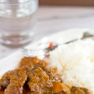 Curry Beef Brisket (咖哩牛腩)