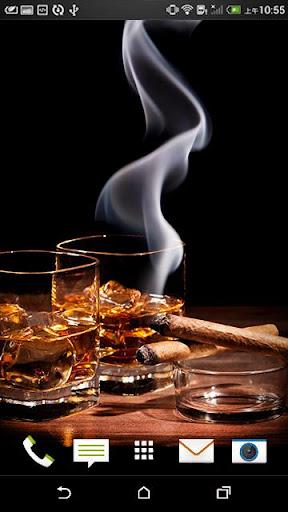 Live Cigar Smoke