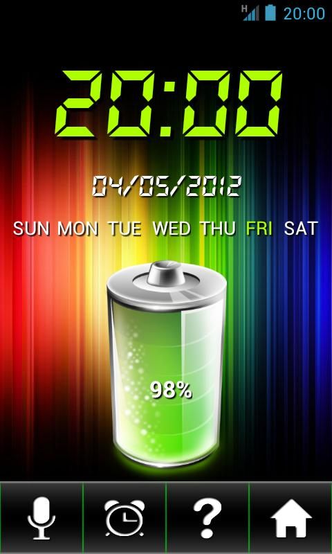 Talk Clock Free- screenshot