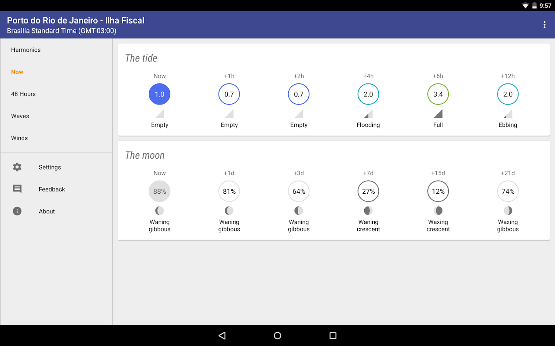 Tide Tables Brazil - screenshot
